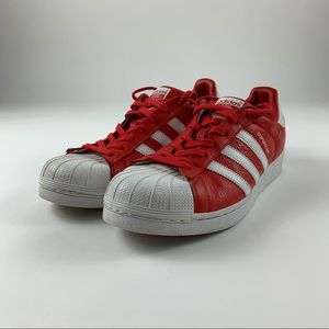 Adidas Superstar Red White Sneakers BB2240